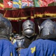 Three french knights — Foto Stock