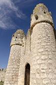 Medieval castle entrance — Stock Photo