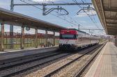 Arriva il treno — Foto Stock