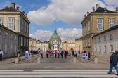 Piazza amalienborg — Foto Stock