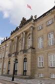 Amalienborg castle — Stock Photo
