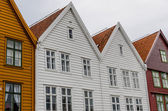 Hanseatic houses — Stock Photo