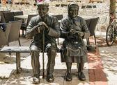 Elders statue — Stock Photo