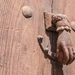 Rusty door knocker — Stock Photo #51410633
