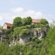 Stock Photo: Pottenstein Castle