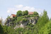 Castelo de pottenstein — Foto Stock