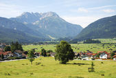 Dorp in tirol — Stockfoto