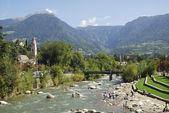 Meran in South Tyrol — Stock Photo