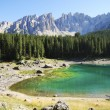 Lake Karrersee — Stock Photo