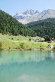 Alpine Lake — Стоковое фото