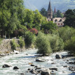 River in Meran — Stock Photo