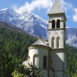 Stock Photo: Church in Sulden