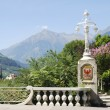Lantern in Meran — Stock Photo