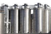 нефтехимическая промышленность — Стоковое фото