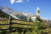 Church in Sulden — Stock Photo