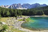 Lake Karrersee — Stock Photo