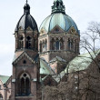 Stock Photo: St. Luke Church in Munich