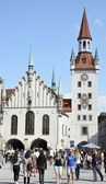 Munich Town Hall — Stock Photo