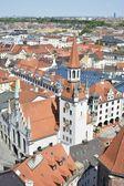 Antiguo ayuntamiento de munich — Foto de Stock