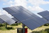 Energía solar — Foto de Stock