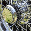 Stock Photo: Vintage Car Wheel