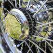 Vintage Car Wheel — Stockfoto