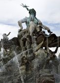Neptunbrunnen in Berlin — Stock Photo