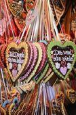 Oktoberfest hearts — Stock Photo