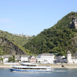 Rhine Gorge — Stock Photo