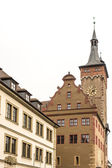 Wuerzburg Town Hall — Stock Photo