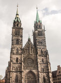 St. Lorenz Church in Nuremberg — Stock Photo
