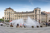 Munich Fountain — Stock Photo
