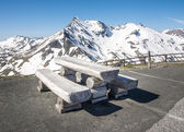 Alpine Picnic Area — Stock Photo