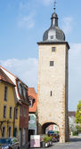 Tower in Volkach — Stock Photo