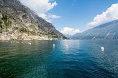 View over Lake Garda — Stock Photo