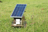 Electric Pastue Fence with Photovoltaic — Photo