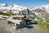 Alpine Picnic Area — Stock Photo