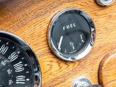 Vintage Fuel Gauge — Stock Photo