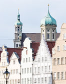 Historic Buildings in Augsburg — Foto Stock
