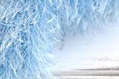 Telaio ciglia blu — Foto Stock