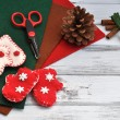 Stock Photo: Christmas Crafts
