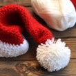 Stock Photo: Christmas Crochet