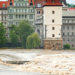 Stock Photo: Flood in Prague