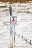 Flood in Prague — Stock Photo