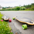 Stock Photo: Longboarding