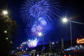 New Years Fireworks — Stockfoto