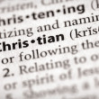 Foto Stock: Dictionary Series - Religion: Christian