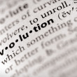 Stock Photo: Dictionary Series - Religion: evolution