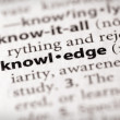 Dictionary Series - Science: knowledge — Stock Photo