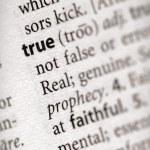 Dictionary Series - Philosophy: true — Stock Photo #30458607